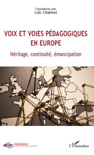 Couverture Voix et voies pédagogiques en Europe