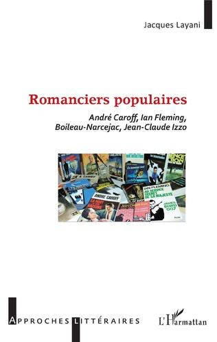 Couverture Romanciers populaires