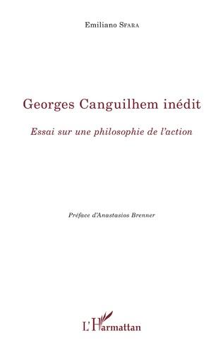 Couverture Georges Canguilhem inédit