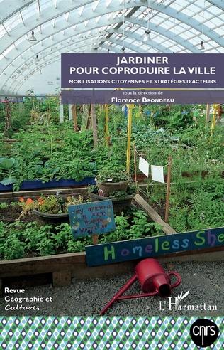 Couverture Jardiner pour coproduire la ville