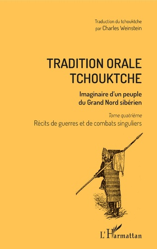 Couverture Tradition orale tchouktche
