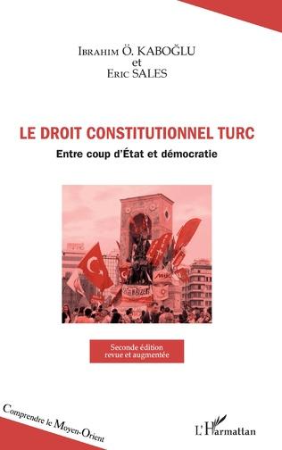 Couverture Droit constitutionnel turc
