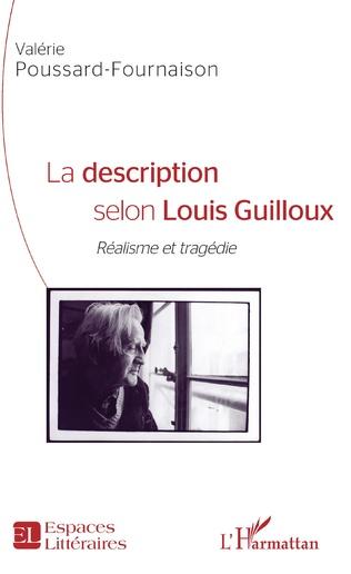 Couverture La description selon Louis Guilloux