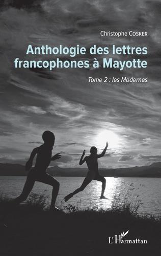 Couverture Anthologie des lettres francophones à Mayotte