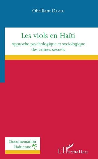 Couverture Les viols en Haïti