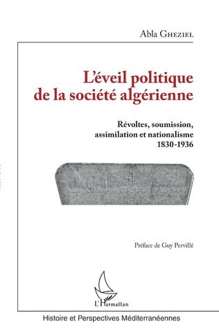 Couverture L'éveil politique de la société algérienne