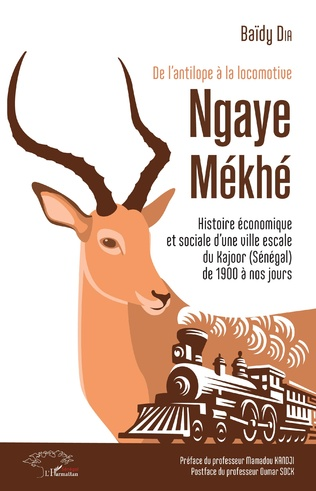 Couverture De l'antilope à la locomotive