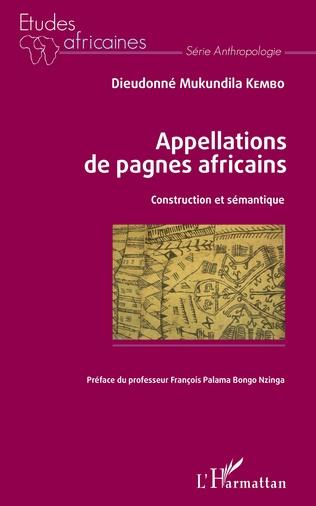 Couverture Appellations de pagnes africains