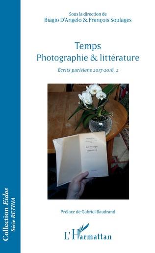 Couverture Temps photographie & littérature