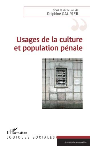 Couverture Usages de la culture et population pénale