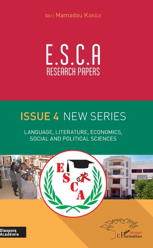 Couverture E.S.C.A. research papers issue 4 new series