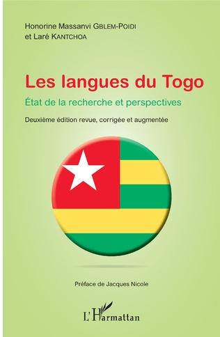 Couverture Les langues du Togo. Etat de la recherche et perspectives