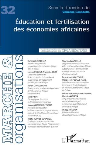 Couverture Education et fertilisation des économies africaines