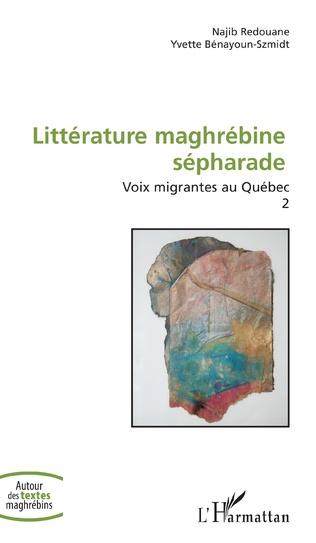 Couverture Littérature maghrébine sépharade