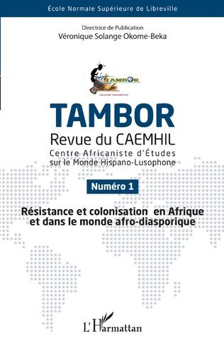 Couverture Résistance et colonisation en Afrique et dans le monde afro-diasporique