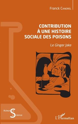Couverture Contribution à une histoire sociale des poisons
