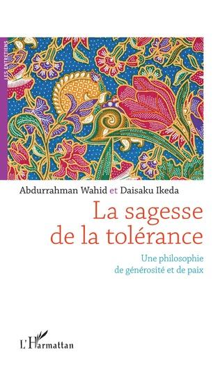 Couverture La sagesse de la tolérance