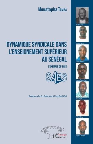 Couverture Dynamique syndicale dans l'enseignement supérieur au Sénégal