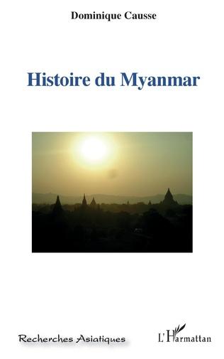 Couverture Histoire du Myanmar