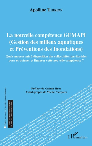 Couverture La nouvelle compétence GEMAPI