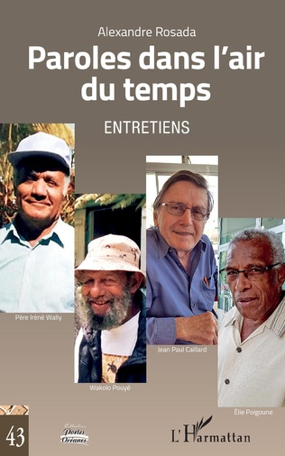 Couverture Paroles dans l'air du temps