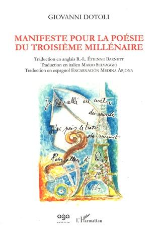 Couverture Manifeste pour la poésie du troisième millénaire