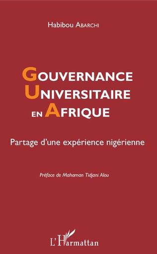 Couverture Gouvernance universitaire en Afrique