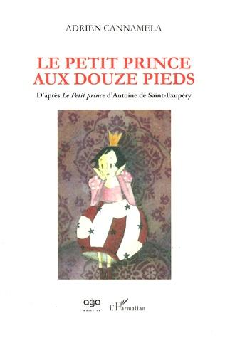 Couverture Le Petit Prince aux douze pieds