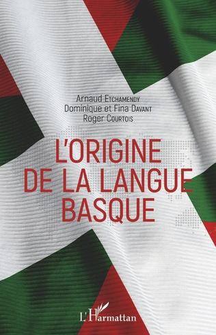 Couverture L'origine de la langue basque
