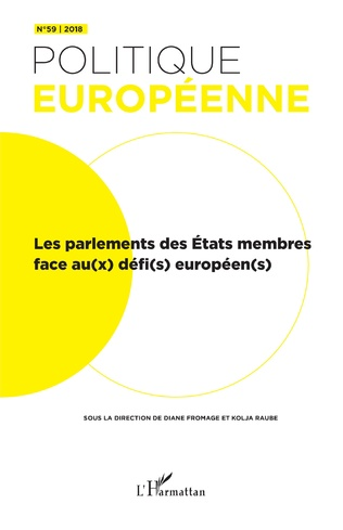 Couverture Les Parlement des état membres face au(x) défi(s) européen(s)