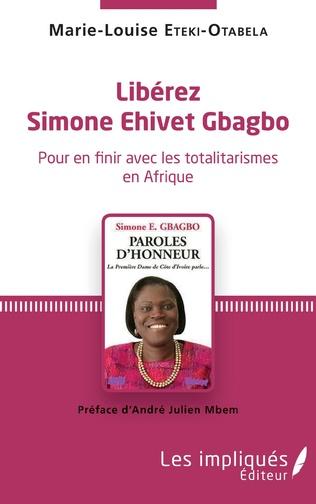 Couverture Libérez Simone Ehivet Gbagbo