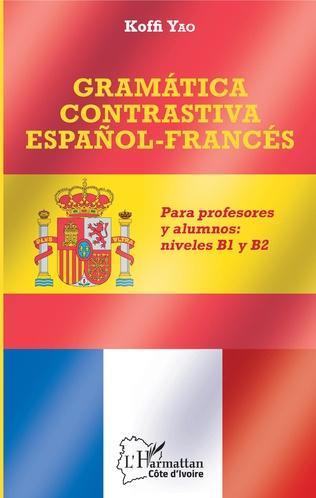Couverture Gramática contrastiva español-francés