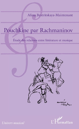 Couverture Pouchkine par Rachmaninov