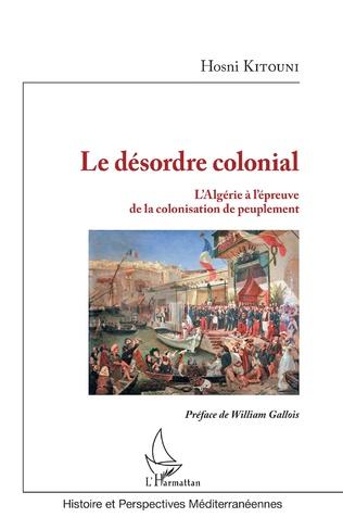 Couverture Le désordre colonial