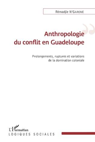 Couverture Anthropologie du conflit en Guadeloupe