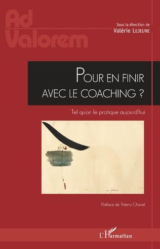 Couverture Pour en finir avec le coaching ?
