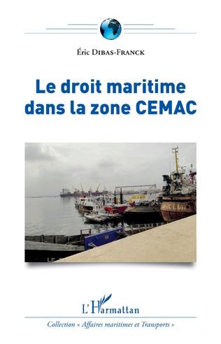 Couverture Le droit maritime dans la zone CEMAC