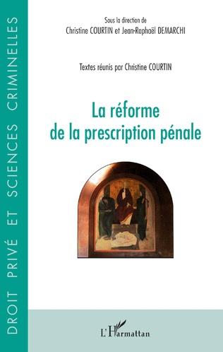 Couverture Réforme de la prescription pénale