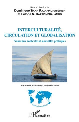 Couverture Interculturalité, circulation et globalisation