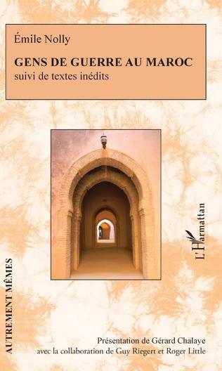 Couverture Gens de guerre au Maroc