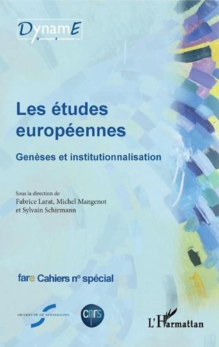 Couverture Les études européennes
