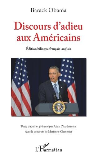 Couverture Discours d'adieu aux Américains