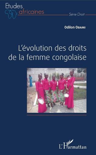 Couverture L'évolution des droits de la femme congolaise