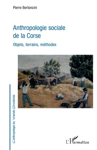 Couverture Anthropologie sociale de la Corse