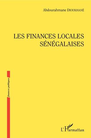Couverture Les finances locales sénégalaises