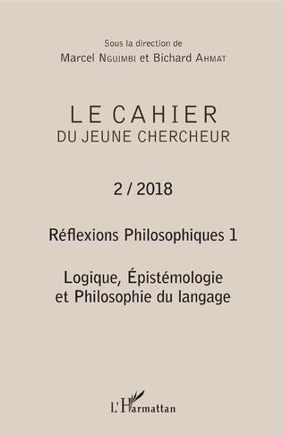 Couverture Réflexions philosophiques 1