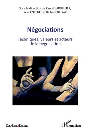 Couverture Négociations