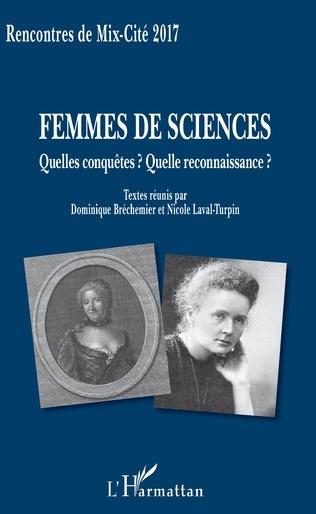 Couverture Femmes de sciences
