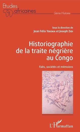 Couverture Historiographie de la traite négrière au Congo