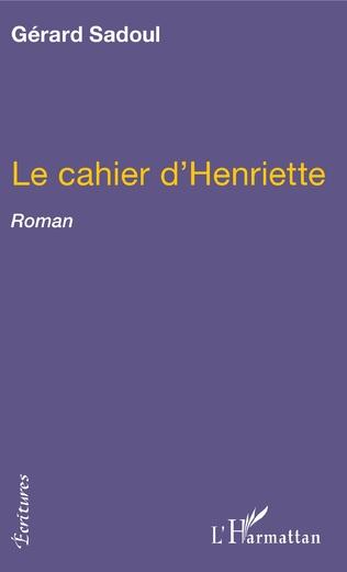 Couverture Le cahier d'Henriette